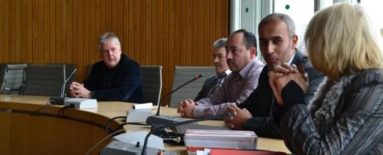 Besuch des Landtags NRW